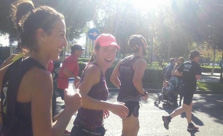 Valeria maratón Valencia 2015